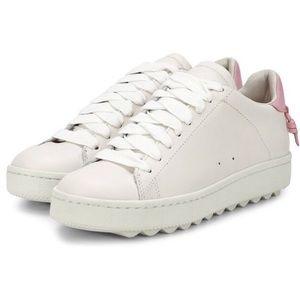 Coach low top platform sneakers size 9.5